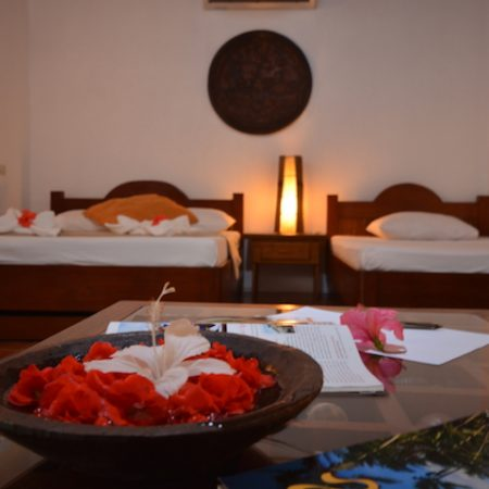 Enjoy the comfort of the Family Room - Hibiscus Garden Inn