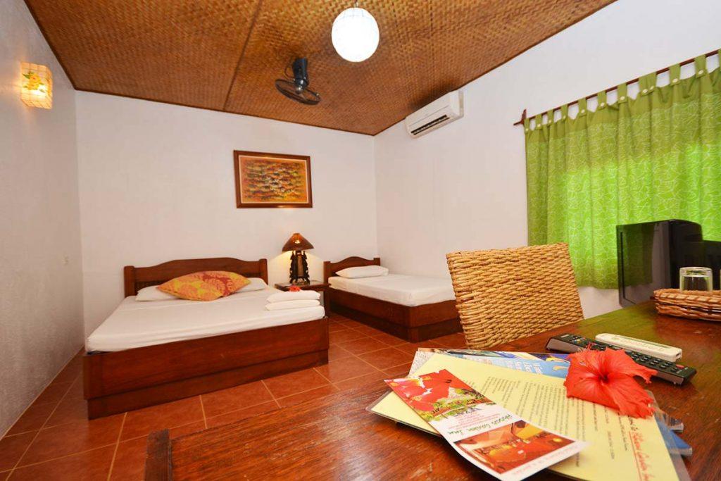 Hibiscus Garden Inn Classic Type Bed View