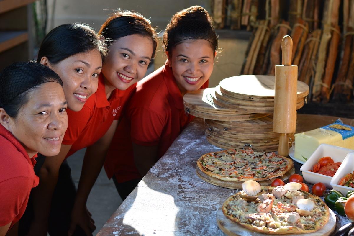 The restaurant team - Hibiscus Garden Inn