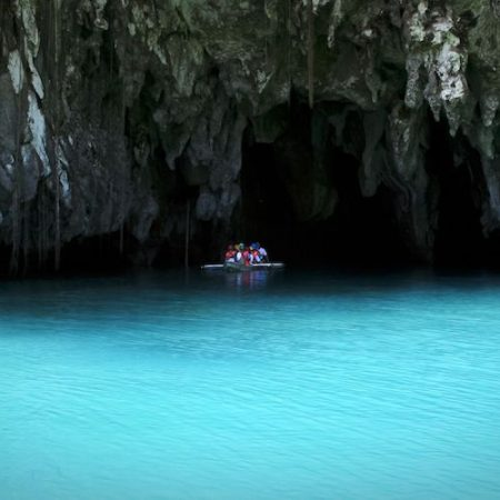 The Underground River Entrance